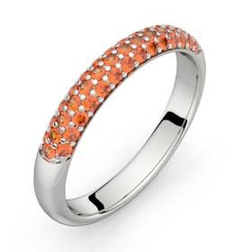 Alliance diamants Comète 0,22 ct HSI or blanc