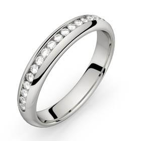 Comète platine diamants 22 HSI