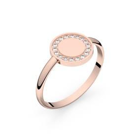 Bague diamants Circles of Love or rose 0,10 ct