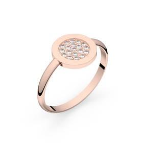 Circles of Love II or rose diamants GVS
