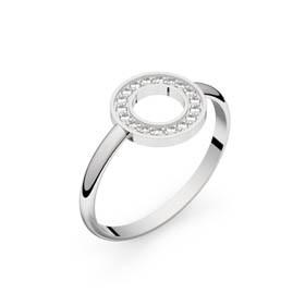 Circles of Love I or blanc diamants GVS