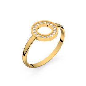 Circles of Love I or jaune diamants GVS
