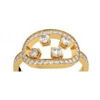 Bague diamants or jaune MA CONSTELLATION 0,68 ct