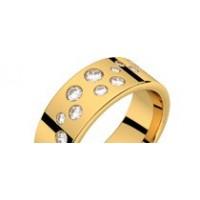 Bague diamants or jaune PLUIE D'ETOILES 0,37 ct HSI
