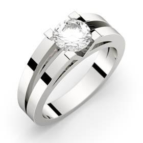 Anne 70 platine diamant GVS2-GIA