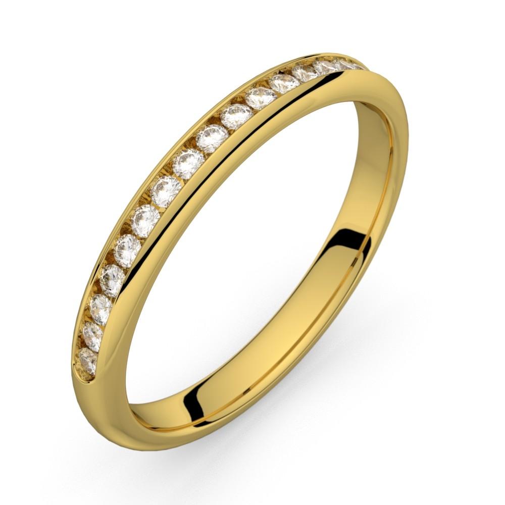Mini-Comète or jaune diamants 20 HSI