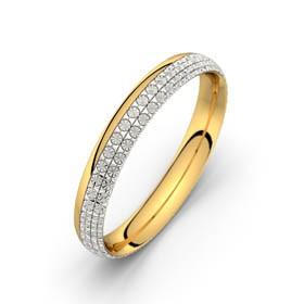 Electra or jaune-or blanc diamantée