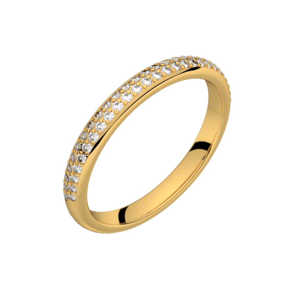 Une Romance à Paris - alliances or et solitaires diamants - My-ring ...