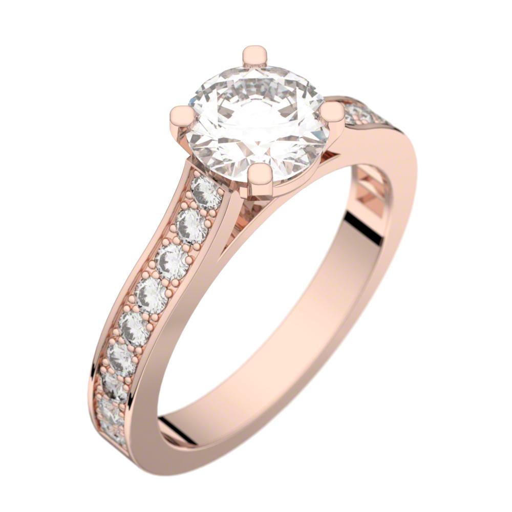 Exceptionnel Bague De Mariage En Or Rose ~ Idées et d'inspiration sur le mariage NL65