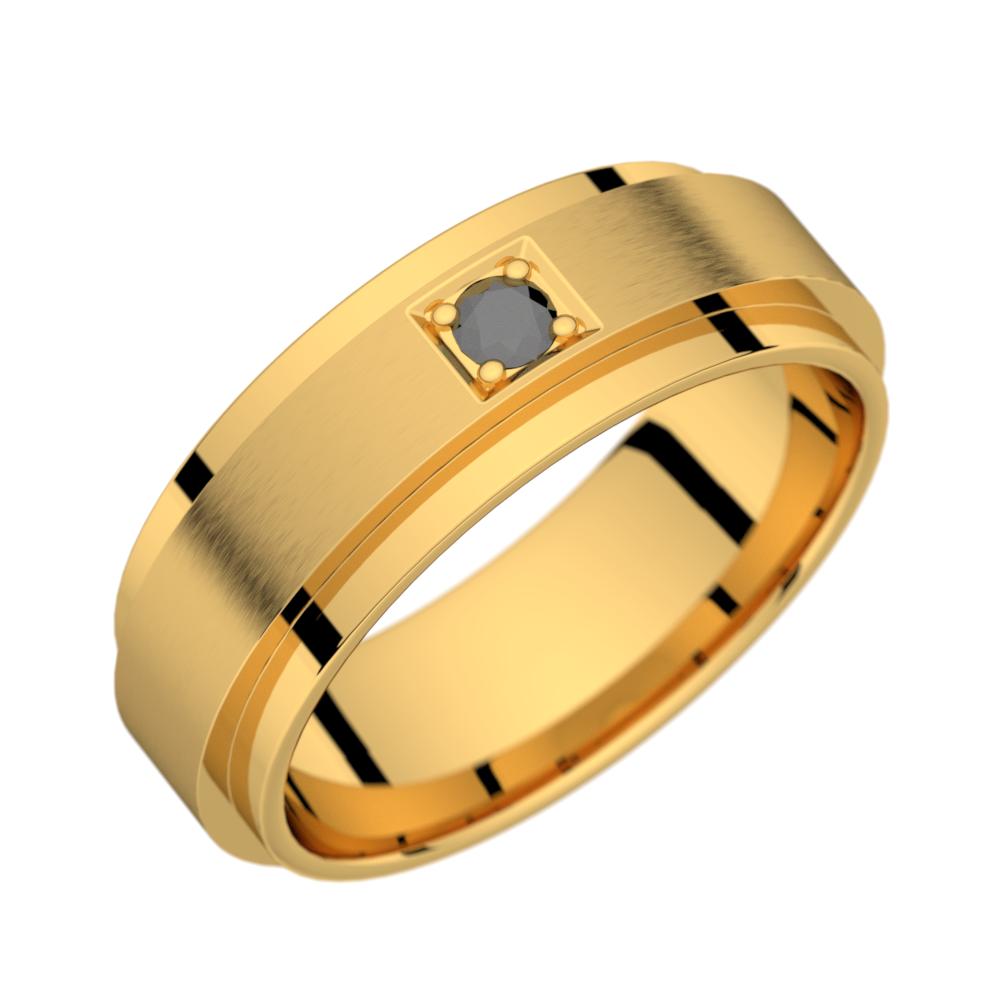 Aérodyne 7.0 or jaune diamant noir