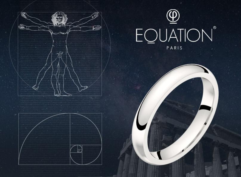 L'alliance Equation est proportionnée selon le nombre d'or