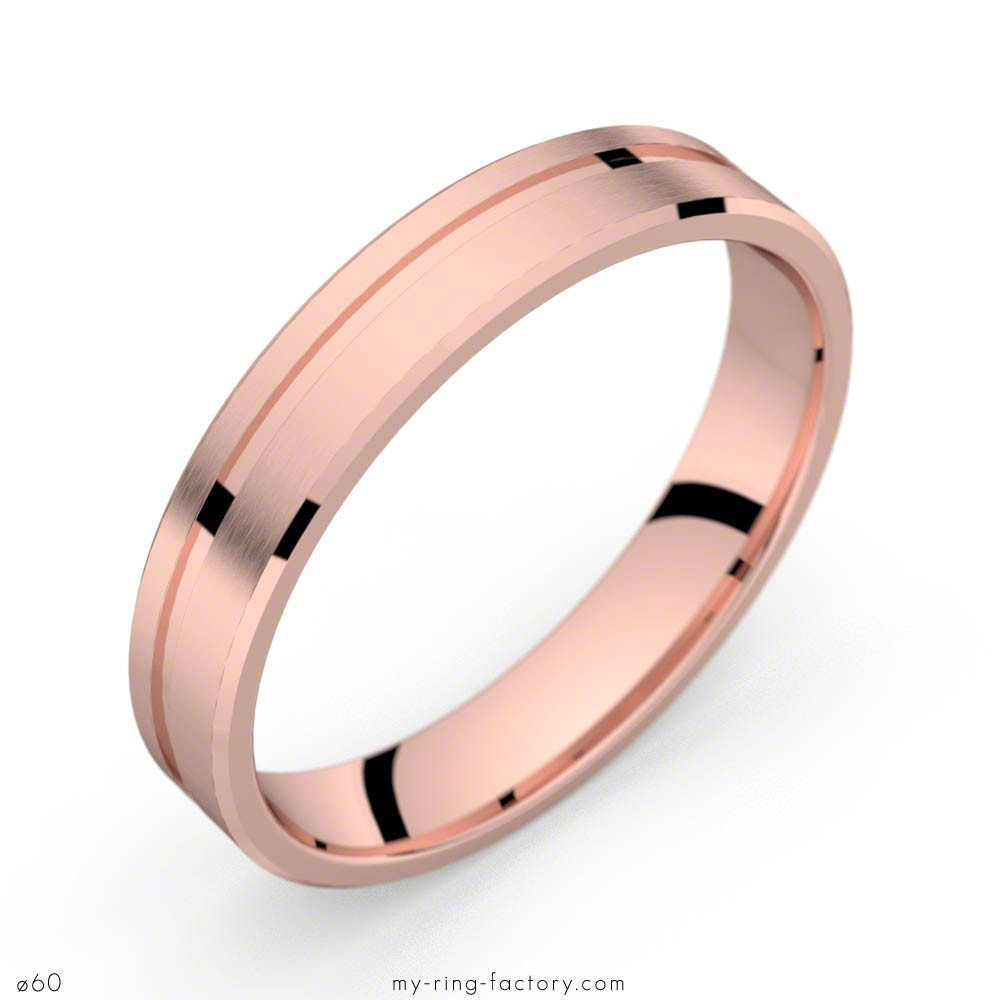 alliance homme or rose viggen 40 my ring factory With alliance homme